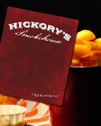 Hickory's Smokehouse Restaurant Menu